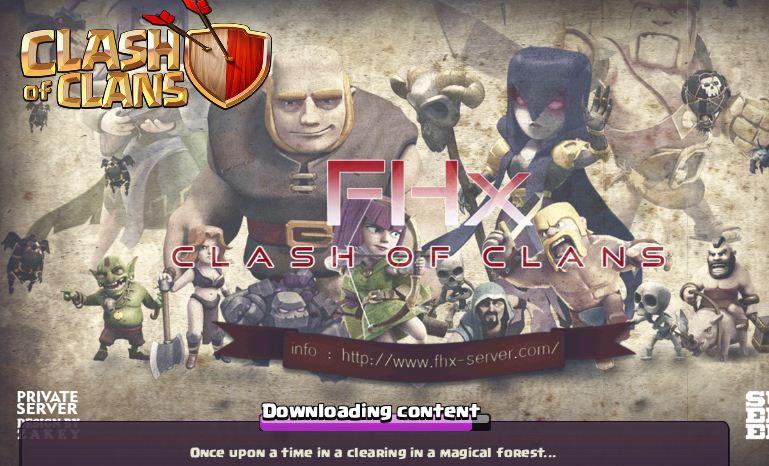 coc fhx server apk download