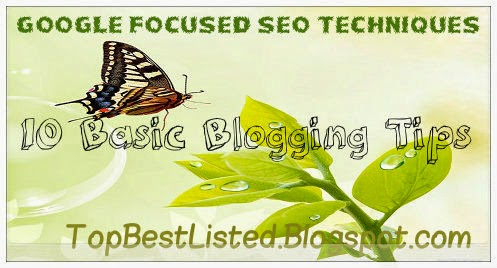 Google-Based-focused-SEO-techniques-10-Blogging-tips
