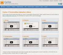 Cyclos 4 Közösségek oktató videók