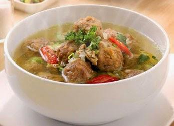 resep dan cara membuat Sup Bola-bola Daging Sapi