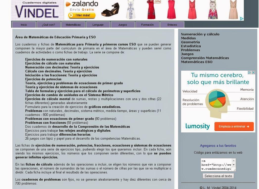 BLOG DE SECUNDARIA DEL CEIBAS SALZILLO.: CUADERNOS VINDEL