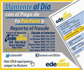 Paga tu factura de EDE Este