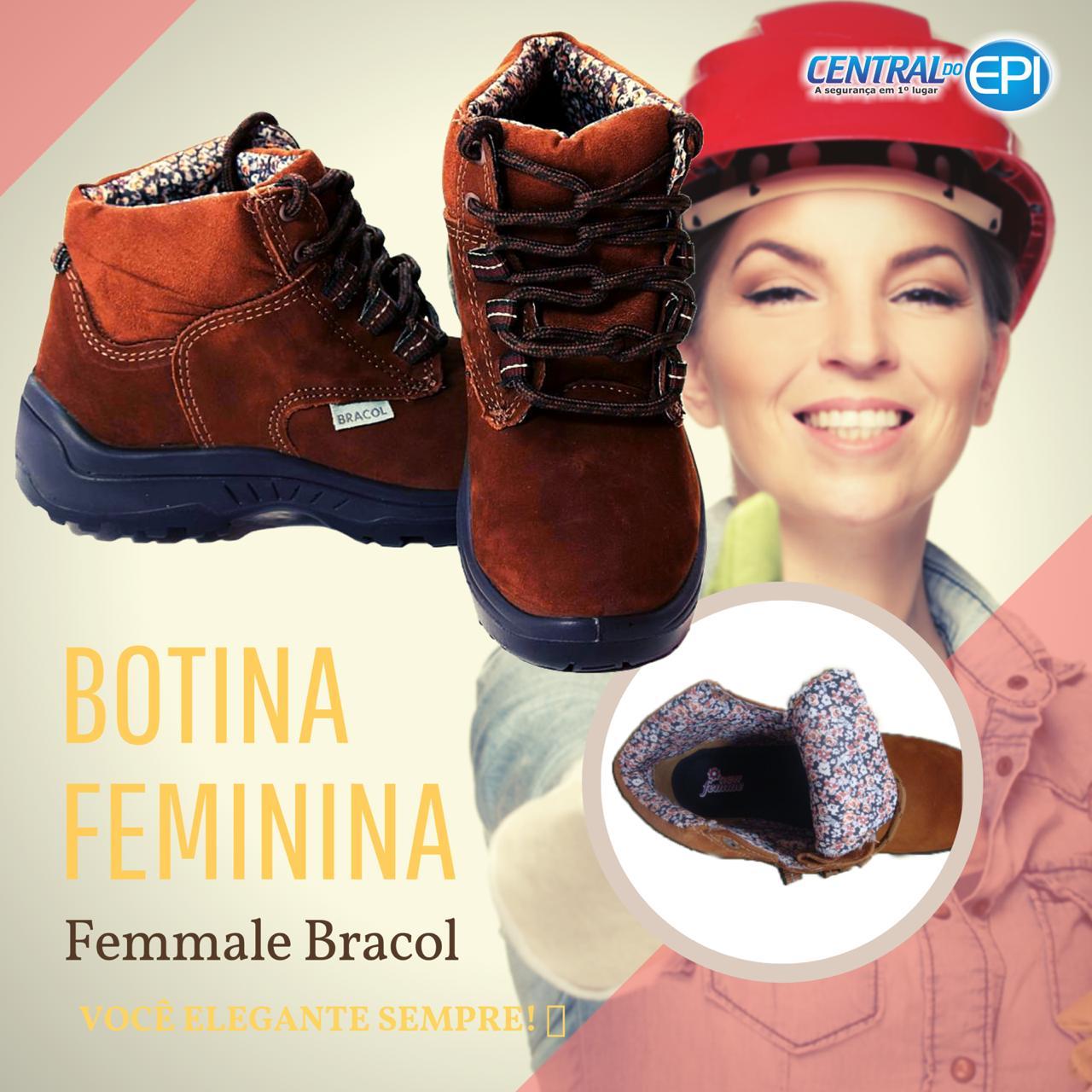 Lindas botas femininas, na Central do EPI tem