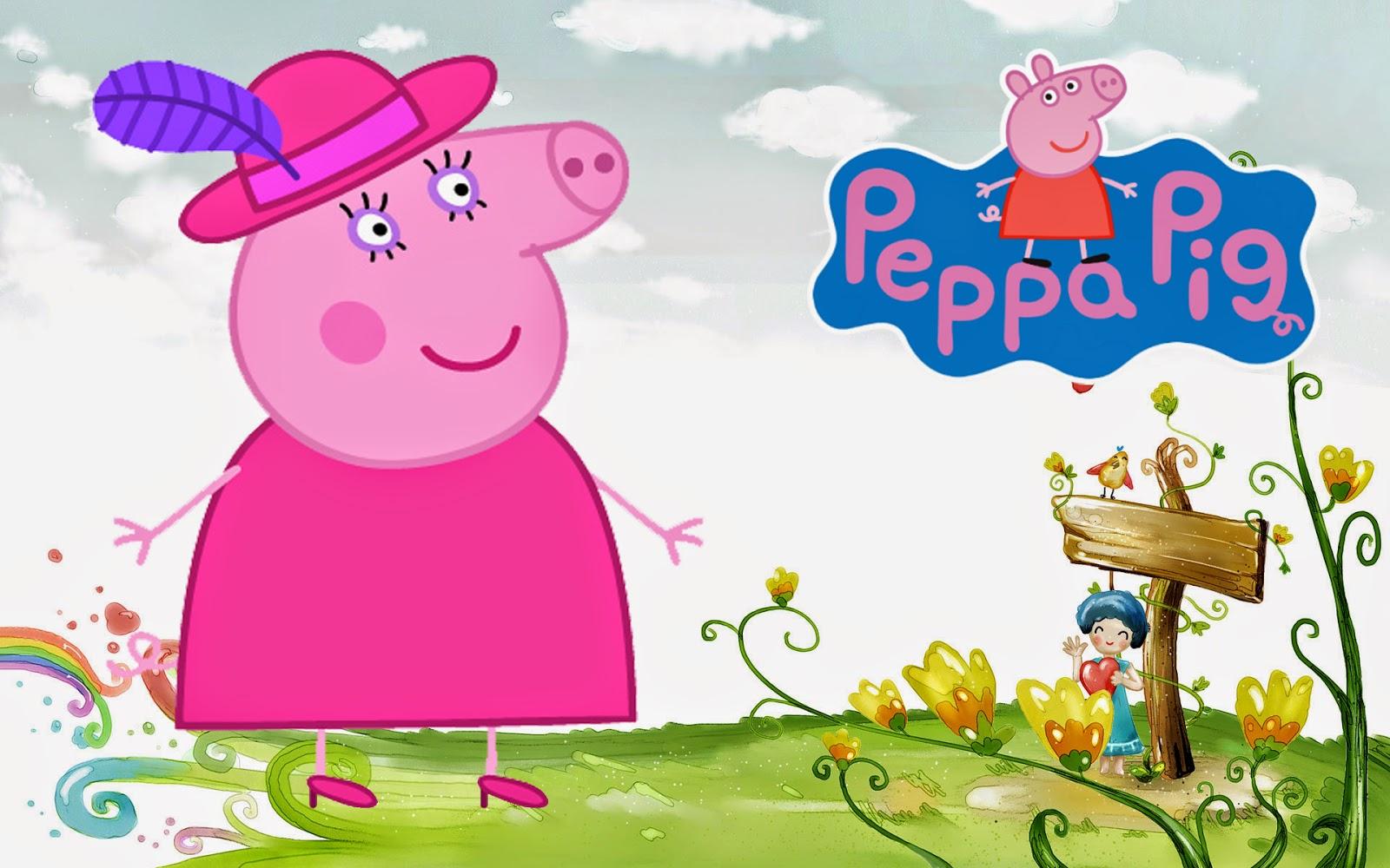 Peppa Pig Cartoon HD Wallpapers