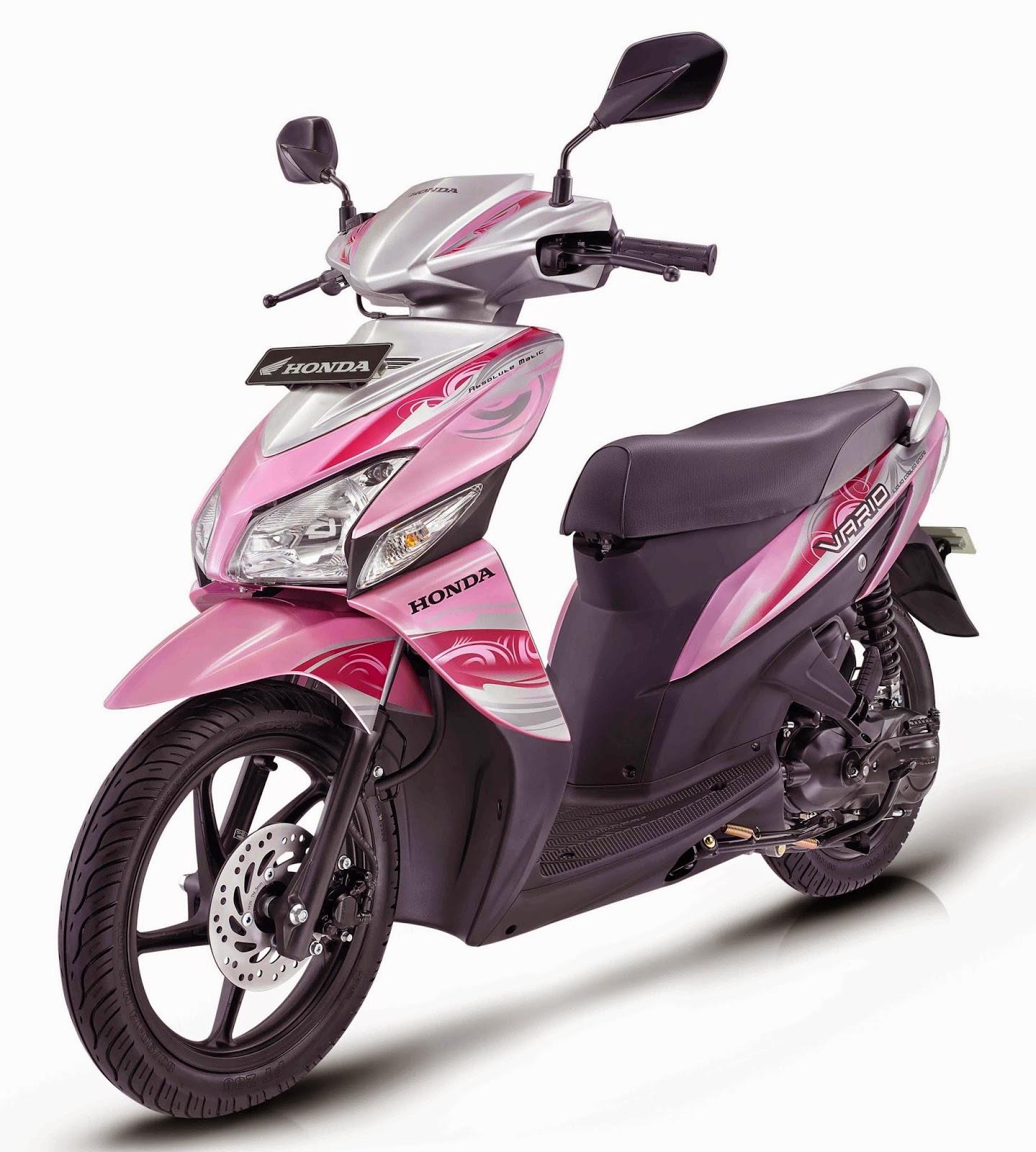 Harga Jual Sepeda Motor Honda Vario Gambar 125 New Esp Cbs Iss Bionic Red Solo Tampilan Modis