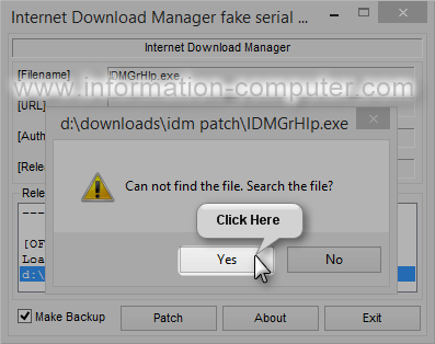 internet  manager fake serial number patch