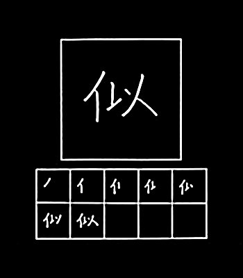kanji mirip