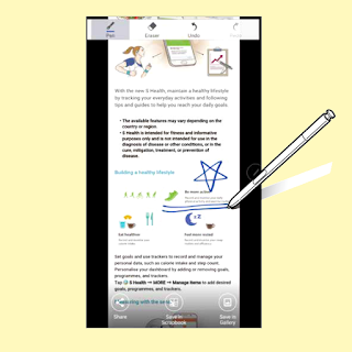 Samsung Galaxy Note 5 Screen Write With S Pen