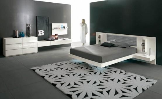 Nuevas camas de estilo minimalista modernas y futuristas for Muebles estilo moderno minimalista
