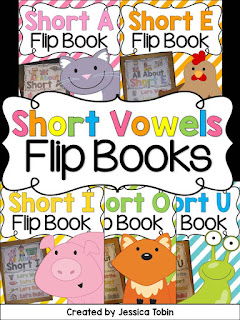 https://www.teacherspayteachers.com/Product/Short-Vowels-2110748