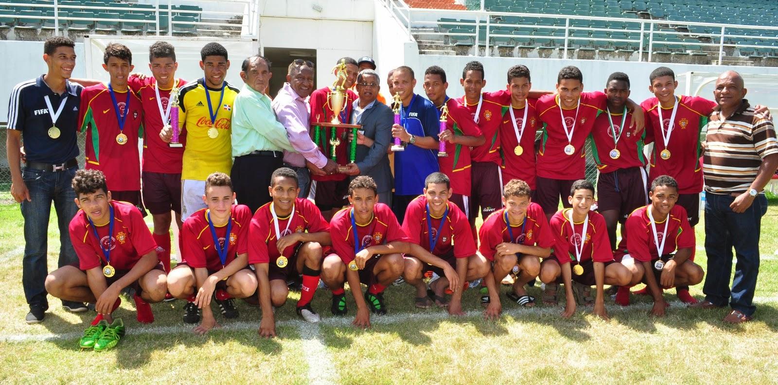 La Vega,campeones Liga Nacional Juvenil