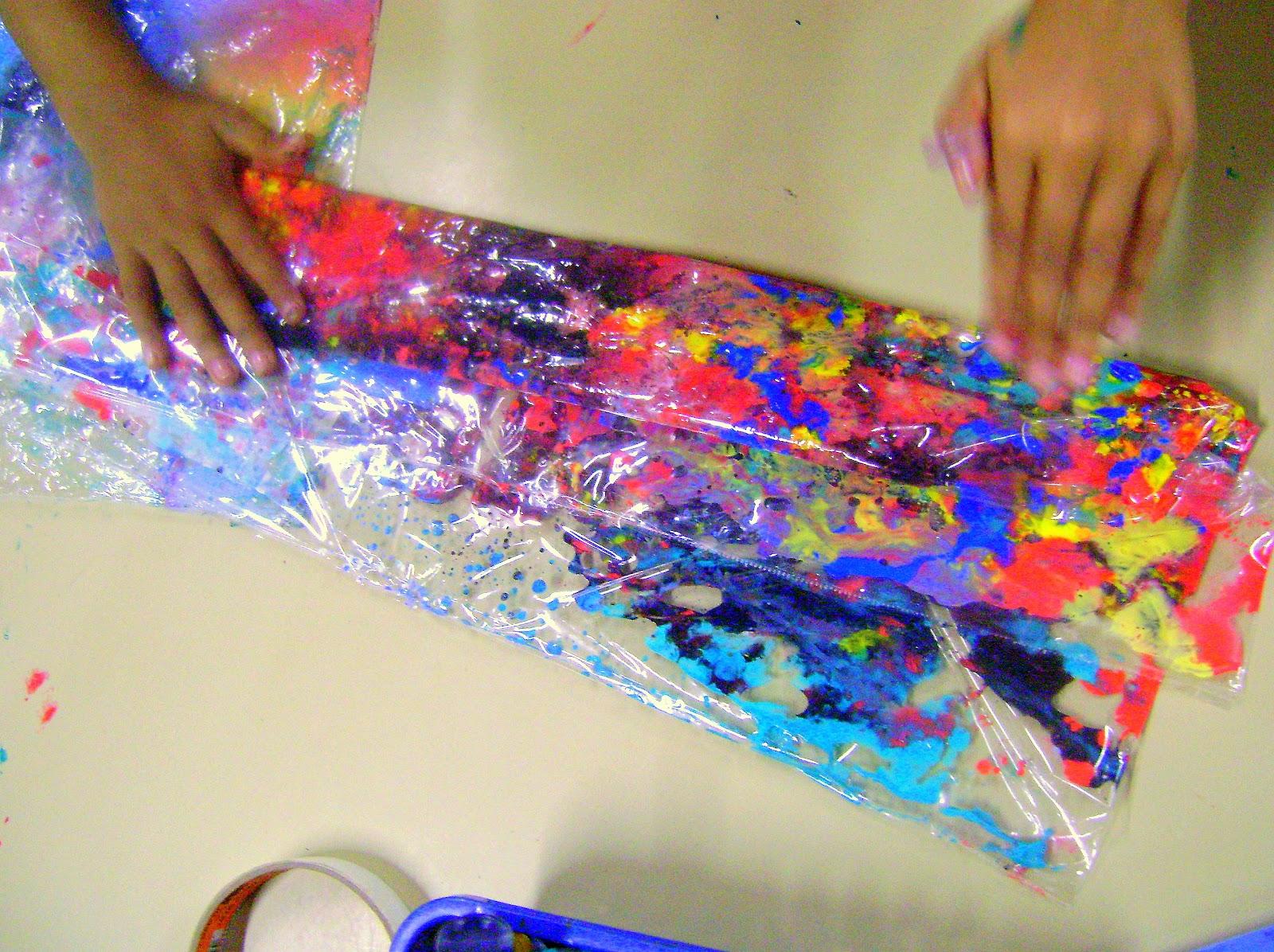 Galeria infantil pintura no saco pl stico - Pintura para plastico ...