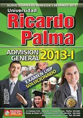Examen General 2013 Ricardo Palma