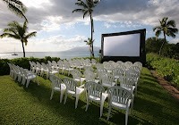 Video Projector for Wedding