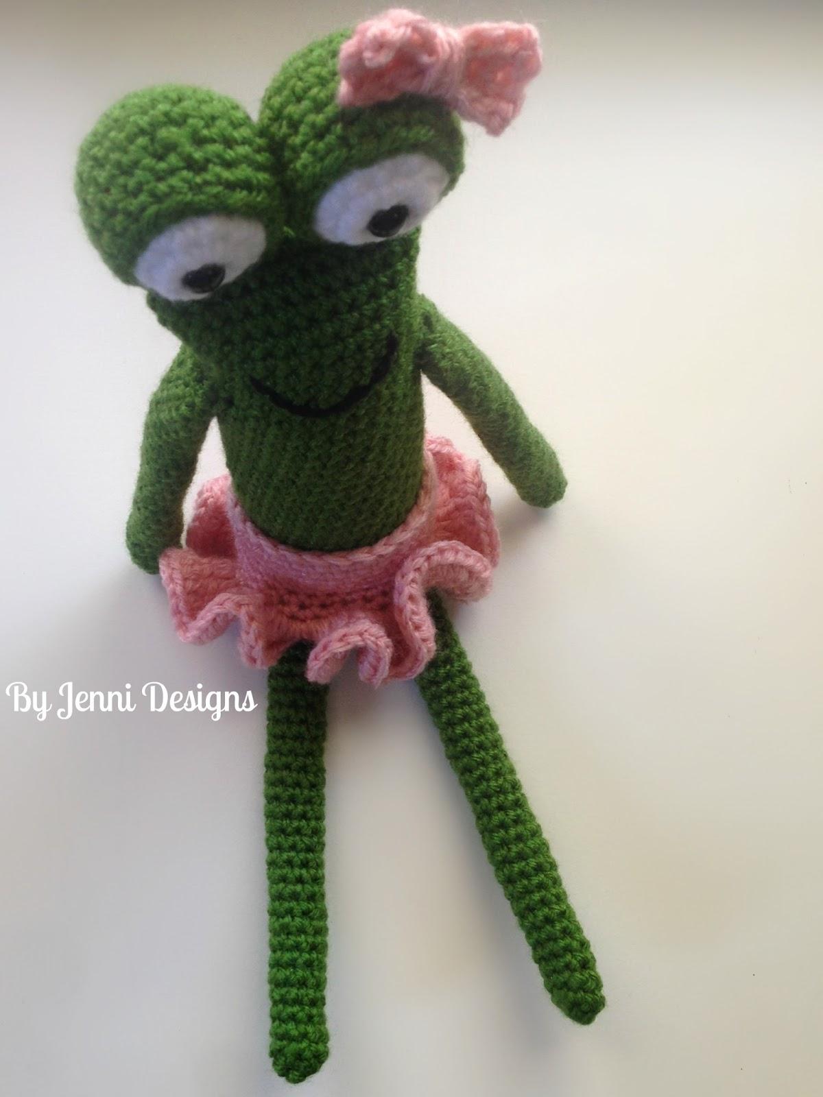 By jenni designs free crochet amigurumi pattern the skinny frog bankloansurffo Gallery