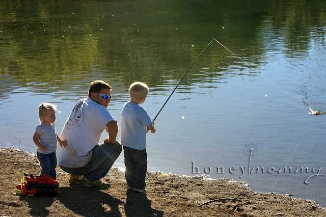 Honey mommy the joys of boys camping and fishing for Camping and fishing near me