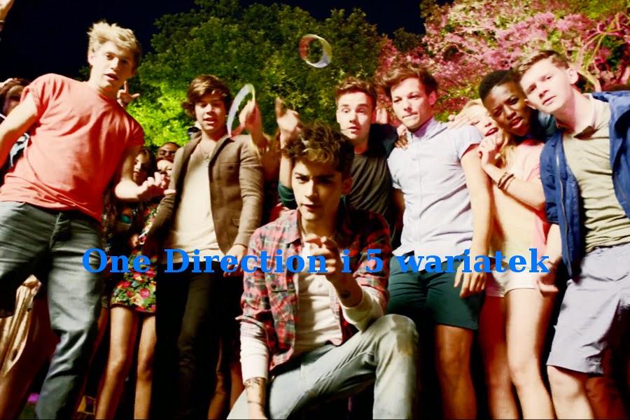 One Direction i 5 wariatek:) Opowiadanie