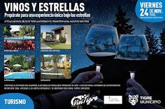 VINOS Y ESTRELLAS EN EL DELTA