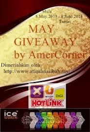 May Giveaway by Amer Corner !
