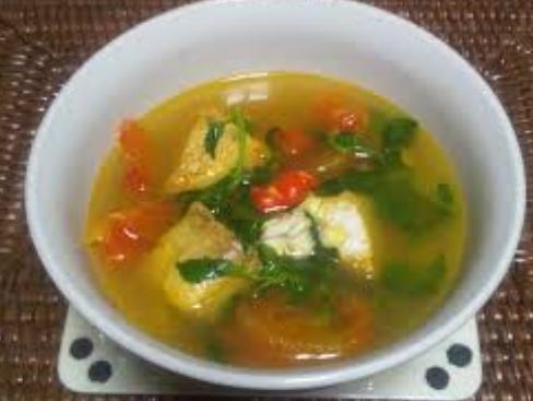 resep masakan sup ikan tuna kuah bening   resepnit