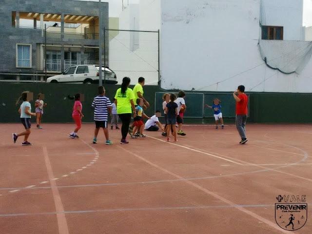 juegos deportivos niños arucas