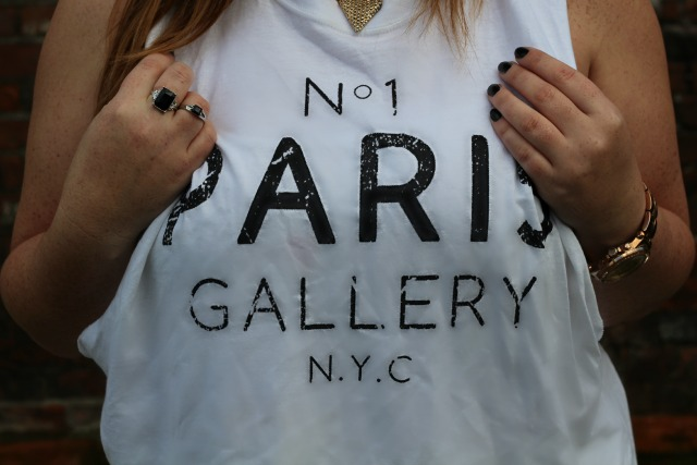 no 1 paris gallery nyc, vest, white, river island, oversized, cutout, topshop, black, rings,