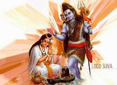 Lord shiva with goddess