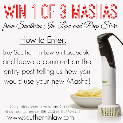 Win 1 of 3 Mashas from Prep Store