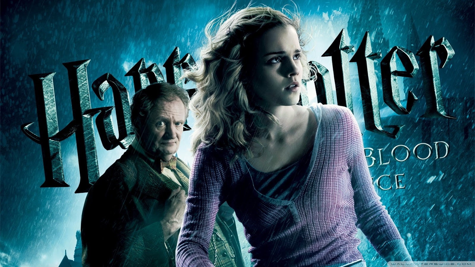 Emma Watson in Harry Potter Half Blood Prince Wallpaper
