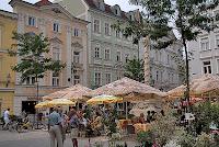 Herrenplatz St Poelten in Austria