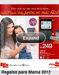 plaza vea dia de la madre 2013