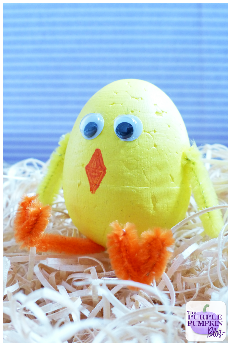 #Easter Chick Craft for Kids