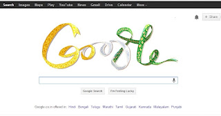 Indian Independence Day Doodle by Google