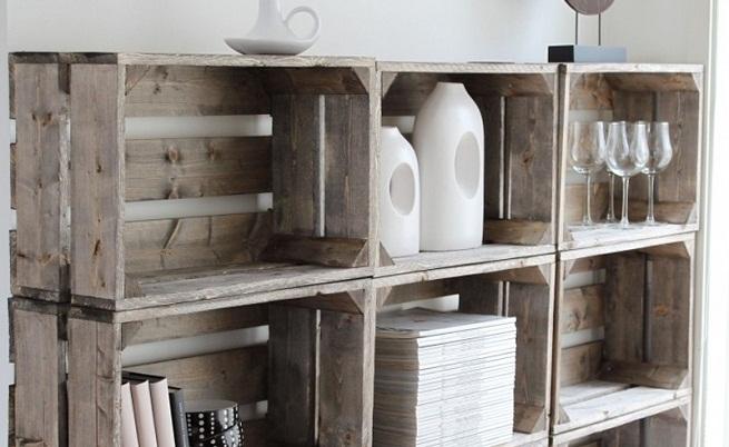 Peregrina de la peseta amueblar con materiales reciclados i for Muebles de cocina reciclados