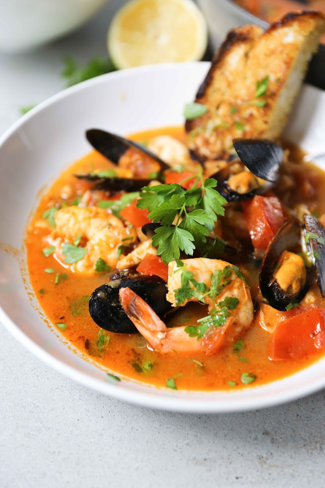 Summer Seafood Stew - Feasting At Home