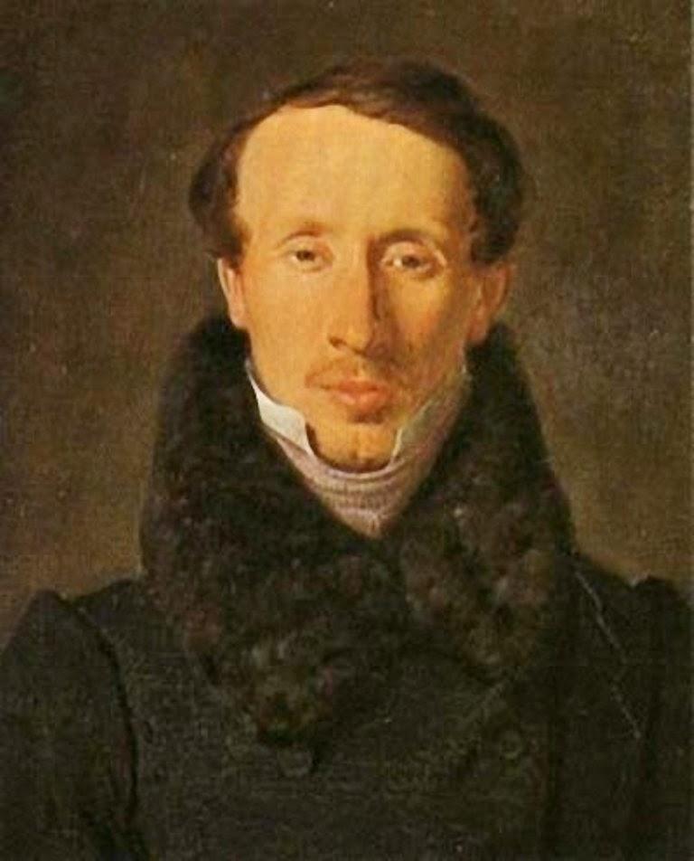 Albert Küchler Portrait of Hans Christian Andersen