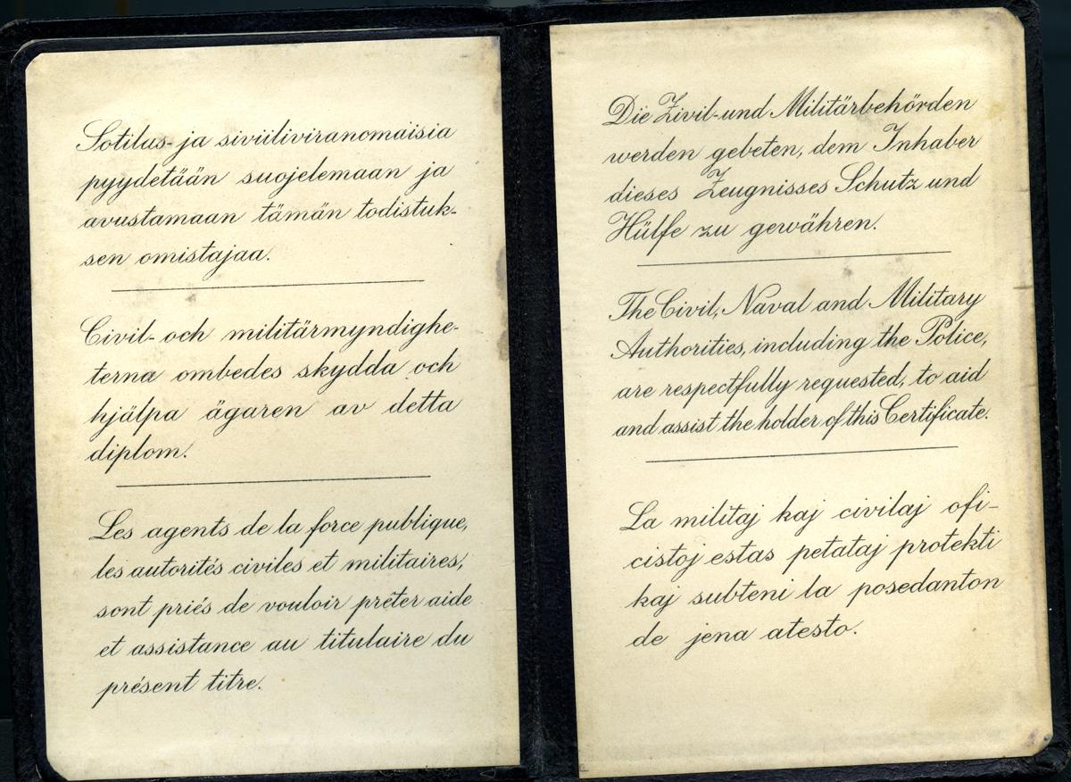 löytö Saksan kieli läimäys