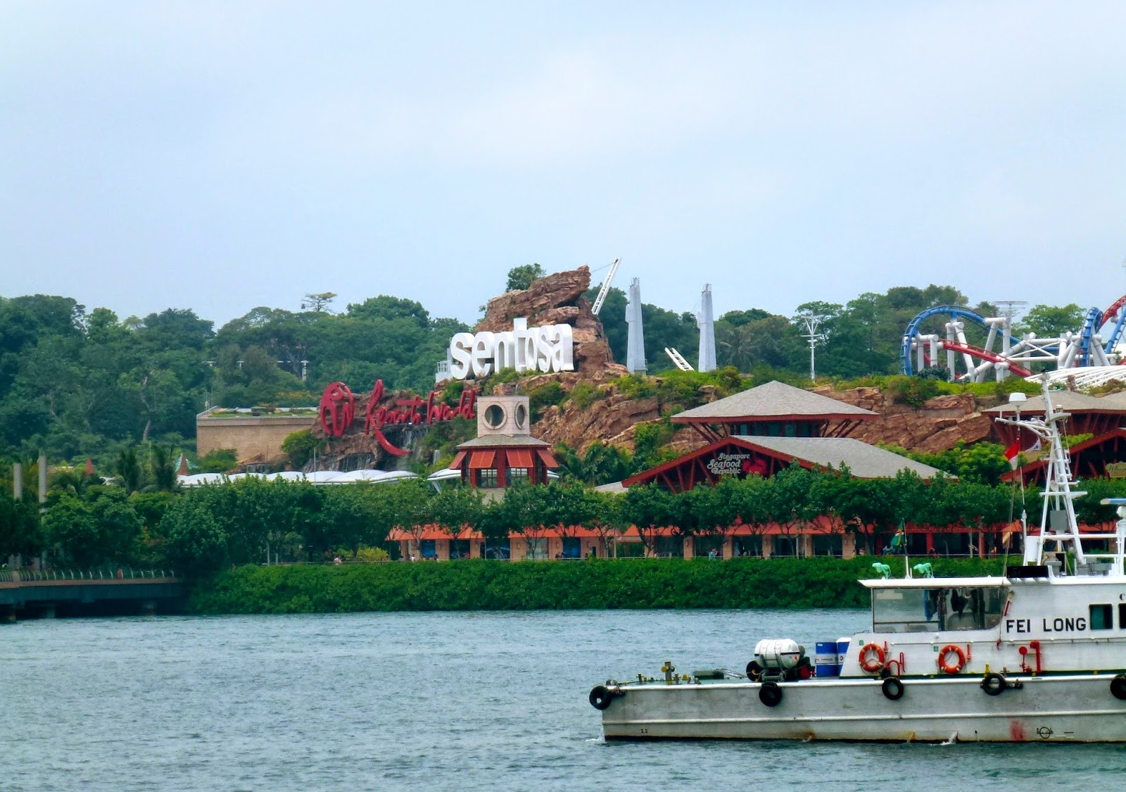 sentosa island how to get there