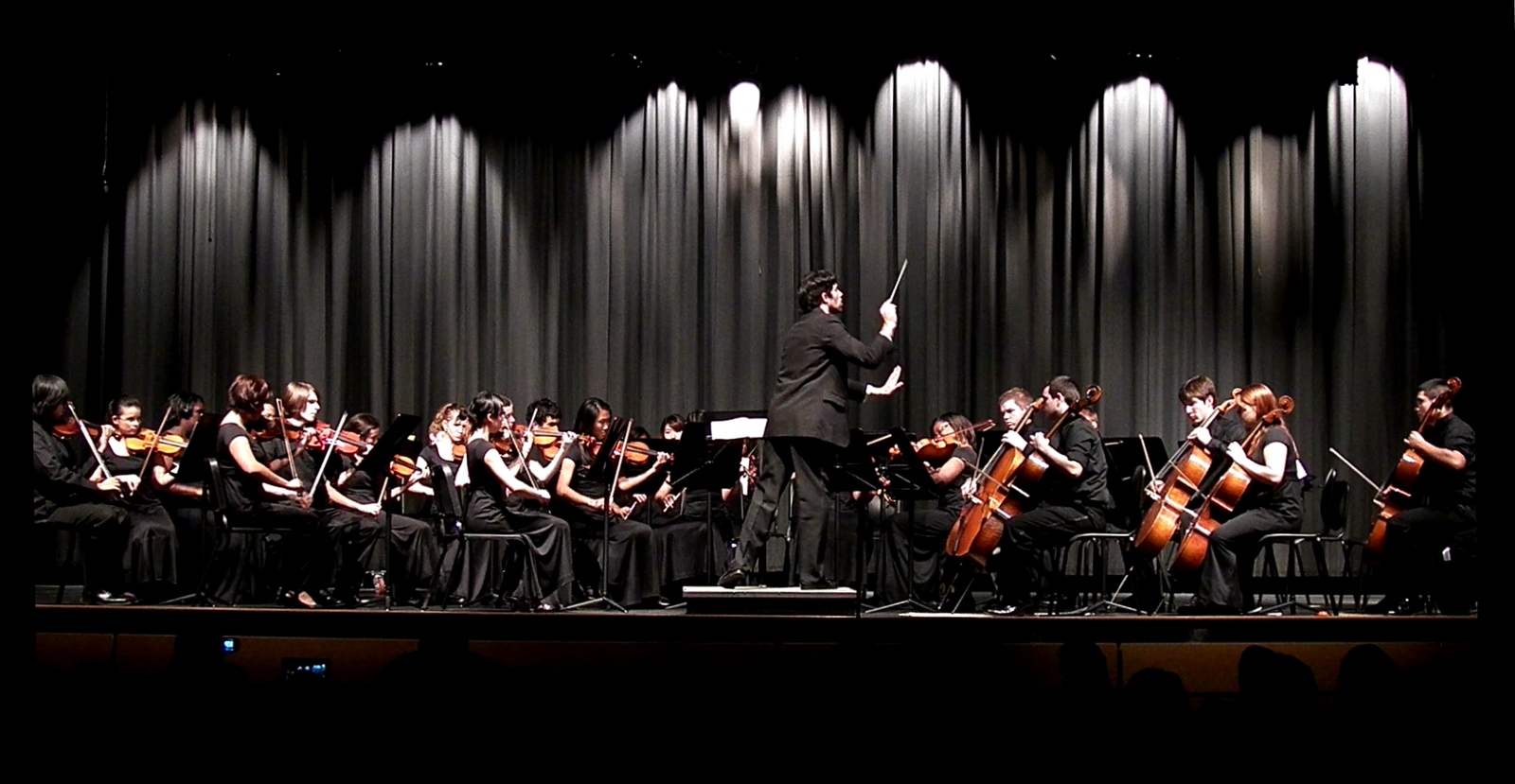 October 18th in pictures 1 video edison hs orchestras for Chamber orchestra