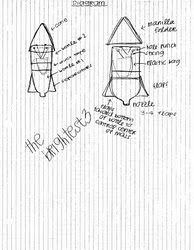 how to make a bottle rocket cone