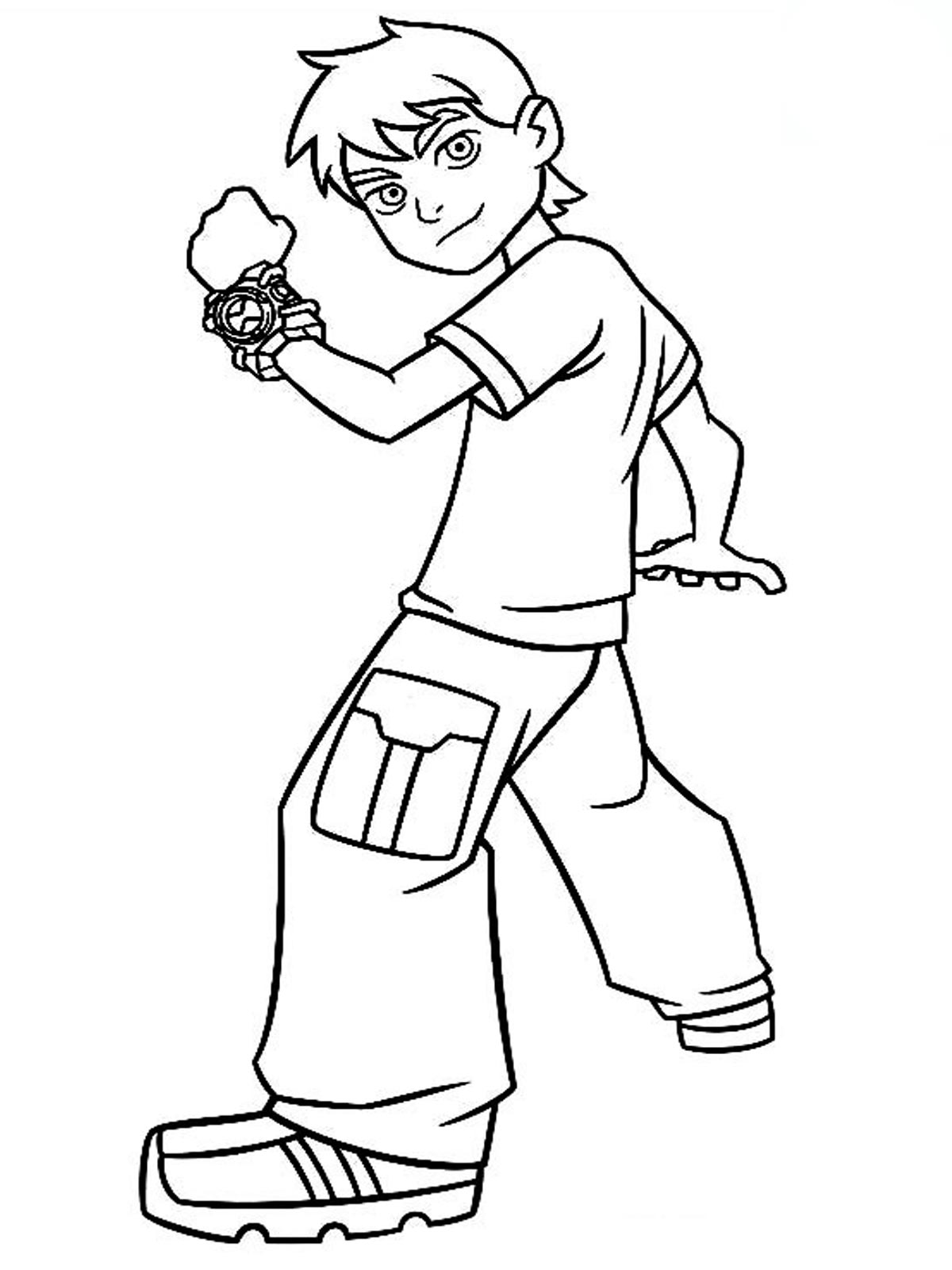 Online childrens coloring pages - Drawing Pages Online Online Coloring Ben 10 Very Best Ben 10 Coloring Pages