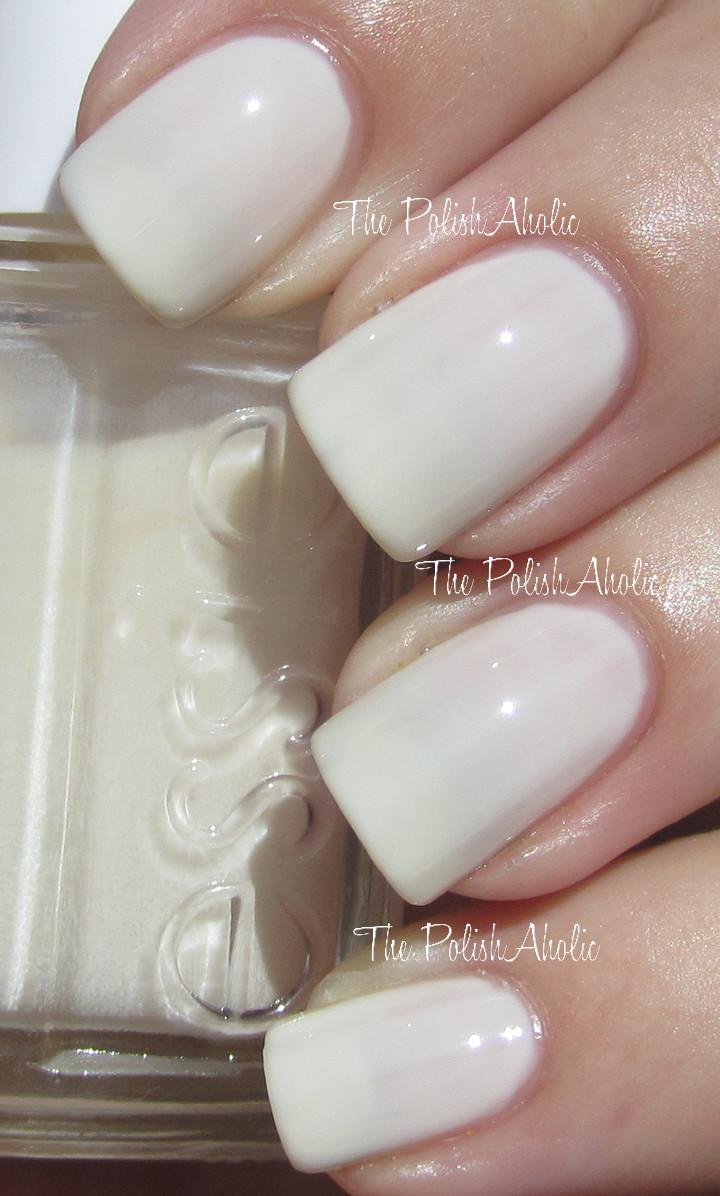 Essie Off White Nail Polish | Best Nail Designs 2018
