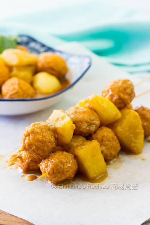 椰汁咖哩魚蛋 Curry Fish Balls with Radish01