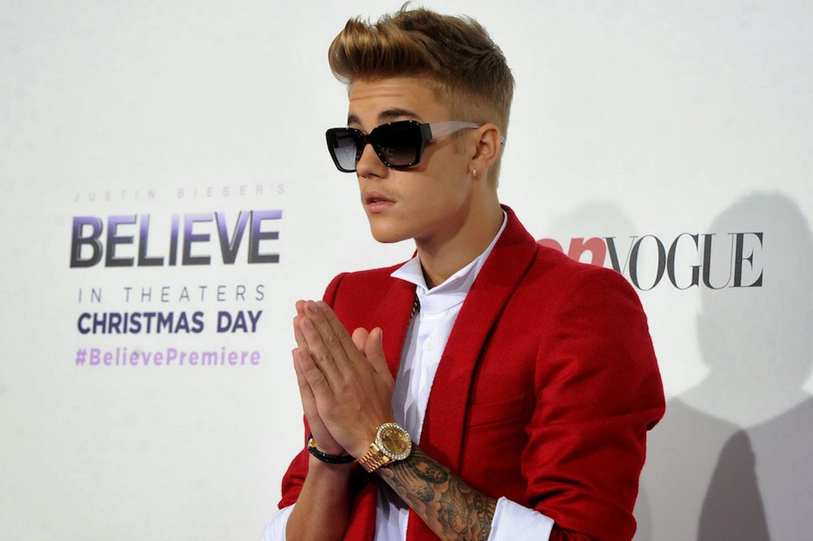 Justin Bieber hints at new album in 2015