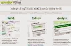 QuestionForm: para crear encuestas, formularios y cuestionarios online