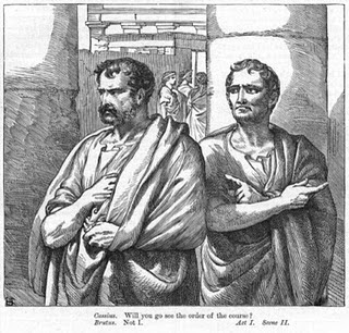Why does Julius Caesar not trust Cassius?