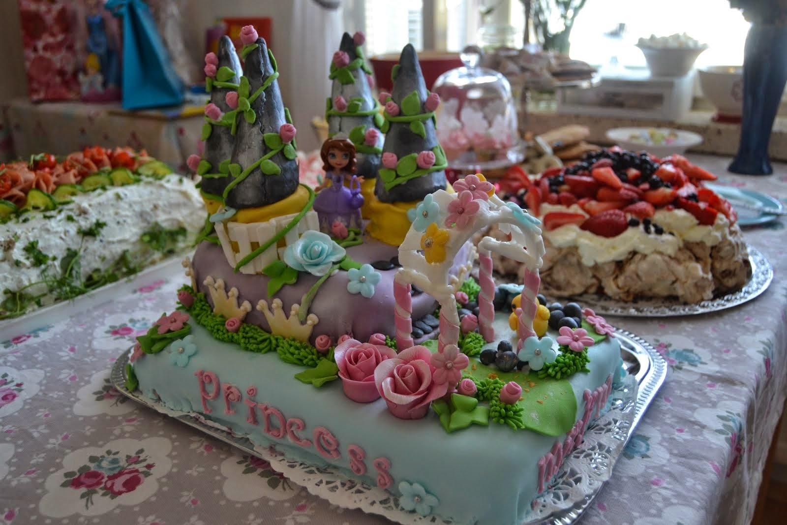 Prinsessalinna- kakku