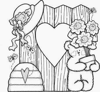 Desenhos do Ursinho Pooh para colorir Hello Kids