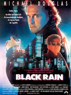 Lluvia Negra / Black Rain Poster