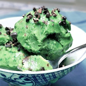 Green Ice Cream
